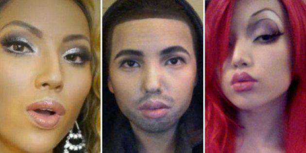 VIDEO - Les incroyables transformations maquillage de Promise