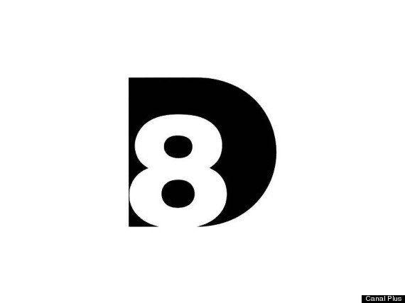D8: le logo de la nouvelle chaîne de Canal Plus