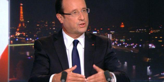 Hollande au 20 Heures de TF1: le redressement dans deux ans, les ennuis pour