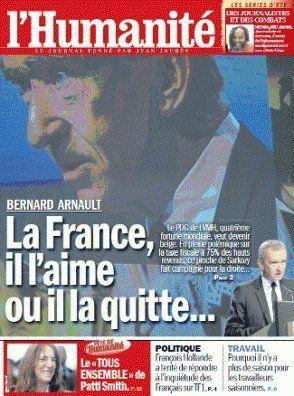 Bernard Arnault porte plainte contre Libération après sa Une choc, Édouard de Rothschild au Grand
