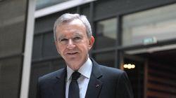 Bernard Arnault a perdu 1,2 milliard