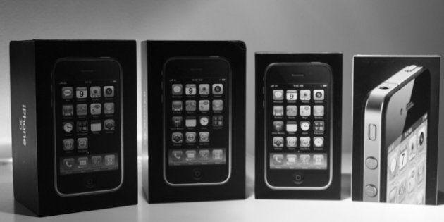 Les évolutions de l'iPhone: retour sur les 5 modèles du smartphone
