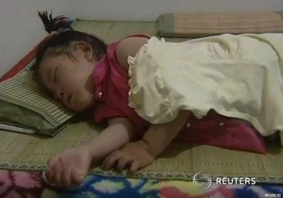 VIDÉO. Une fillette de deux ans survit à une chute de 5