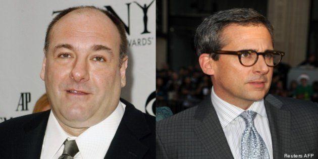 Steve Carell était sur le point de tourner un film avec l'acteur de Tony Soprano, James
