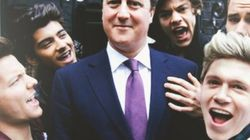 David Cameron, guest star d'un clip des One