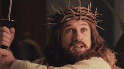 Jésus parodié à la