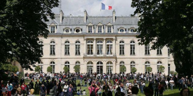 Les jardins de l'Élysée ouverts au public le dernier dimanche de chaque