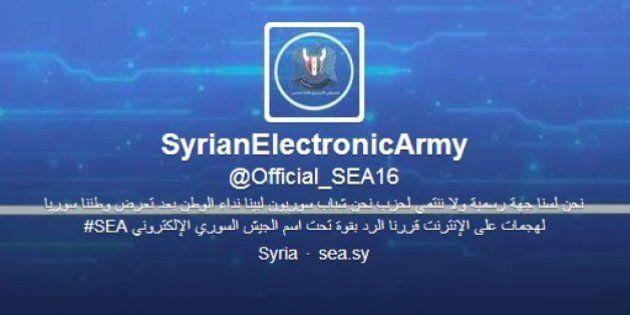 Le New York Times et Twitter attaqués par l'Armée syrienne