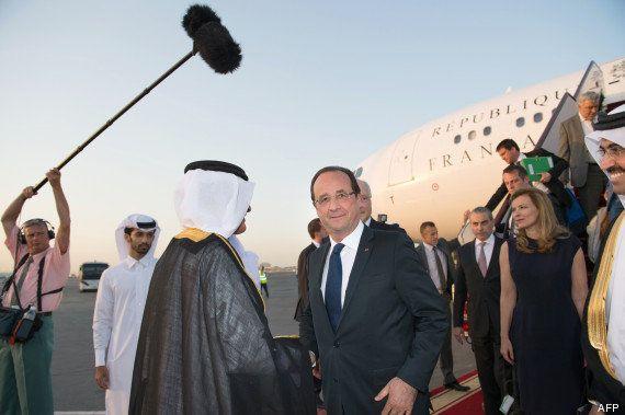 VIDÉO. Qatar: François Hollande arrive à Doha pour une visite de 24