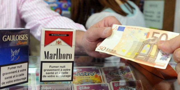 Hausse de 40 centimes du prix du paquet de cigarettes le 1er