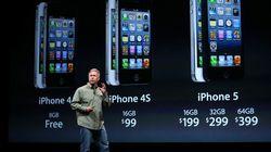 Orange annonce ses tarifs iPhone 5: 199,90 à 399,90€ pour les nouveaux