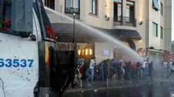 Istanbul : les manifestants, de retour, chassés au canon à