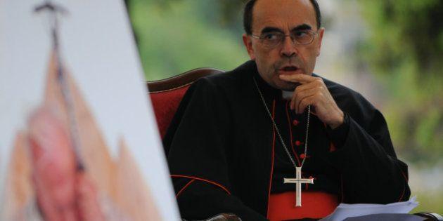 Mariage gay: l'archevêque de Lyon, le cardinal Barbarin, établit un lien avec l'inceste et la