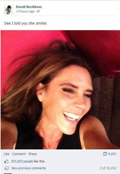 PHOTO. Victoria Beckham sait
