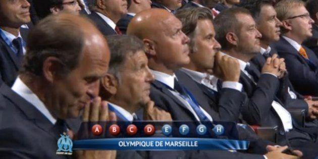 Tirage au sort de la Ligue des champions: un groupe difficile pour l'OM, le PSG