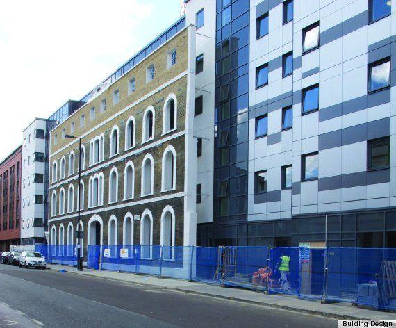 PHOTOS. Une résidence étudiante en Grande-Bretagne sacrée pire bâtiment neuf de