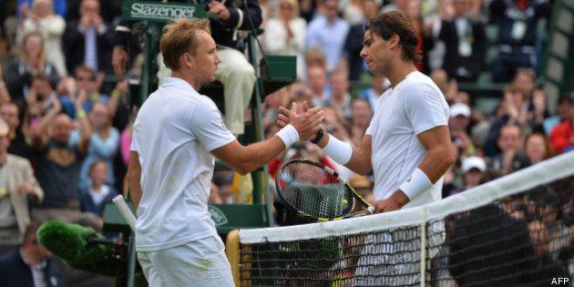 Wimbledon 2013, tennis: Rafael Nadal éliminé au 1er tour par le Belge Steve Darcis, 135e