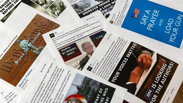 Facebook ads linked to a Russian effort to disrupt the 2016 presidential election. Some states are trying to regulate politic