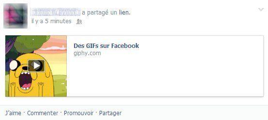 GIF sur Facebook: comment publier une image animée sur le réseau