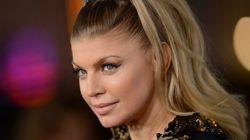 Fergie des Black Eyed Peas attend un premier