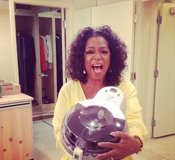 Oprah Winfrey vante la friteuse sans huile Actifry de Seb: l'action décolle en bourse, Montebourg en