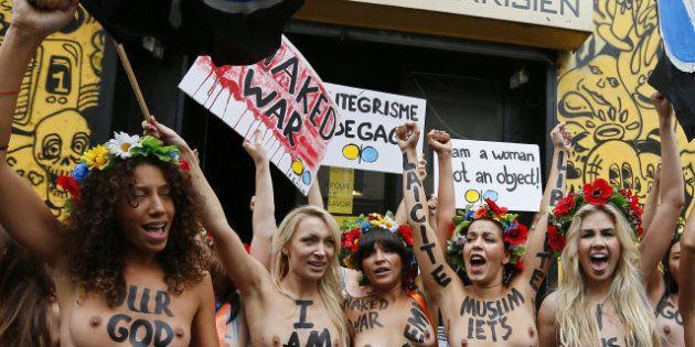Les Femen ouvrent un