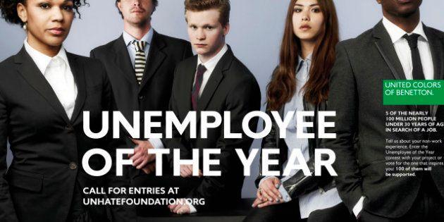 Benetton : la dernière campagne de pub recherche le chômeur de