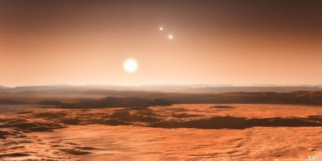 Trois exoplanètes potentiellement habitables autour d'une seule