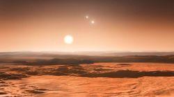 On a découvert trois exoplanètes potentiellement