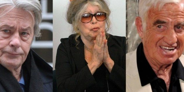 Brigitte Bardot, Alain Delon et Jean-Paul Belmondo unis contre la