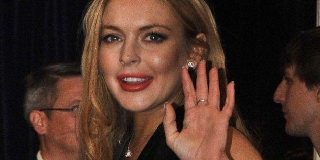 Lindsay Lohan arrêtée pour délit de fuite après avoir percuté en voiture un