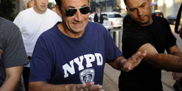 Sarkozy donne une conférence à New