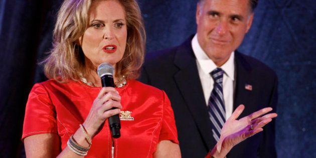 Quand la femme de Romney vole à son