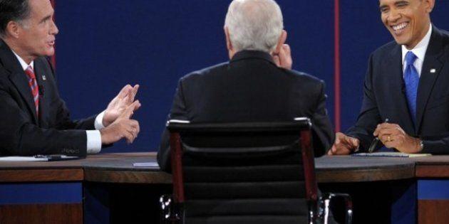 REVUE DE PRESSE - Dernier débat Obama-Romney: les éditorialistes américains sacrent le président