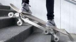 Un skateboard pour descendre tranquille les