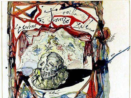 PHOTOS. Le voleur d'un tableau de Dali arrêté, après avoir retourné l'oeuvre par