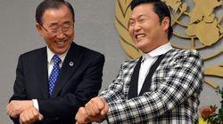 Quand Psy apprend Gangnam Style à Ban