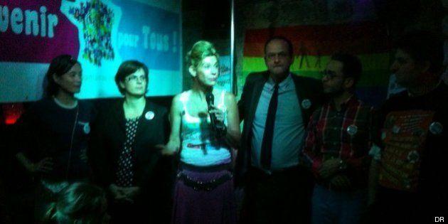 REPORTAGE - Avenir pour tous: Frigide Barjot lance son mouvement dans l'indifférence