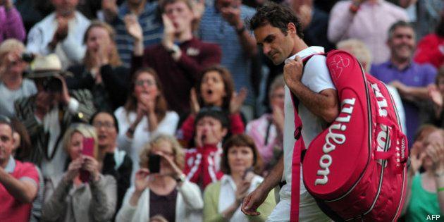 VIDÉOS. Tournoi de tennis de Wimbledon 2013 : Jo-Wilfried Tsonga abandonne, Roger Federer à