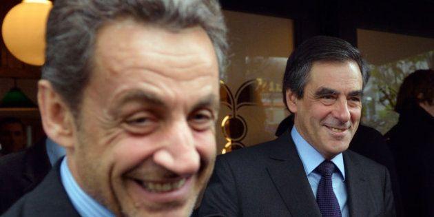 VIDEO - Présidence de l'UMP: Nicolas Sarkozy et François Fillon déjeunent ensemble avant le