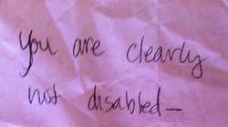A l'auteur de la note anonyme laissée sur mon