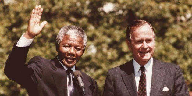 Nelson Mandela mort selon George Bush: une gaffe de son