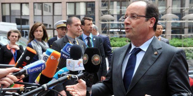 Au sommet européen, François Hollande cherche à apaiser les tensions entre Paris et la Commission