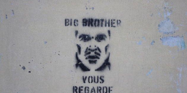 Description 1 Big Brother graffiti in La Ferté-sous-Jouarre (Seine-et-Marne , France). 1 Le Big Brother...