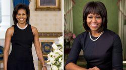 PHOTO. Portrait officiel de Michelle Obama: la première dame immortalise sa frange pour les quatre années à