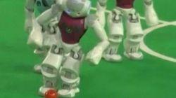 Les robots aussi ont droit à leur Coupe du