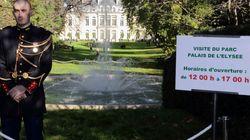 PHOTOS. Hollande ouvre les jardins de l'Élysée au public: quelle empreinte chaque président a laissé au