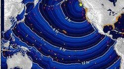Un tsunami touche Hawaï suite à un séisme au