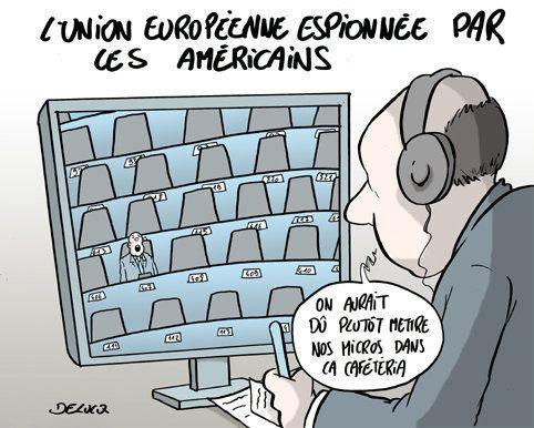 T'es américain et t'espionnes? Non mais allô,