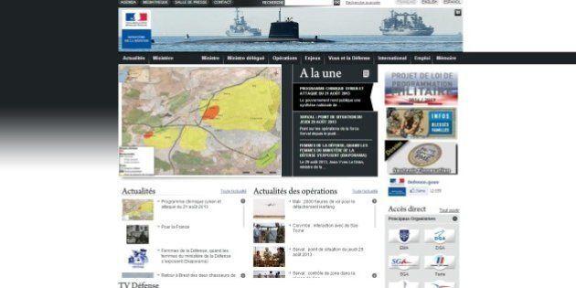 Le site du ministère de la Défense hors ligne après la publication de